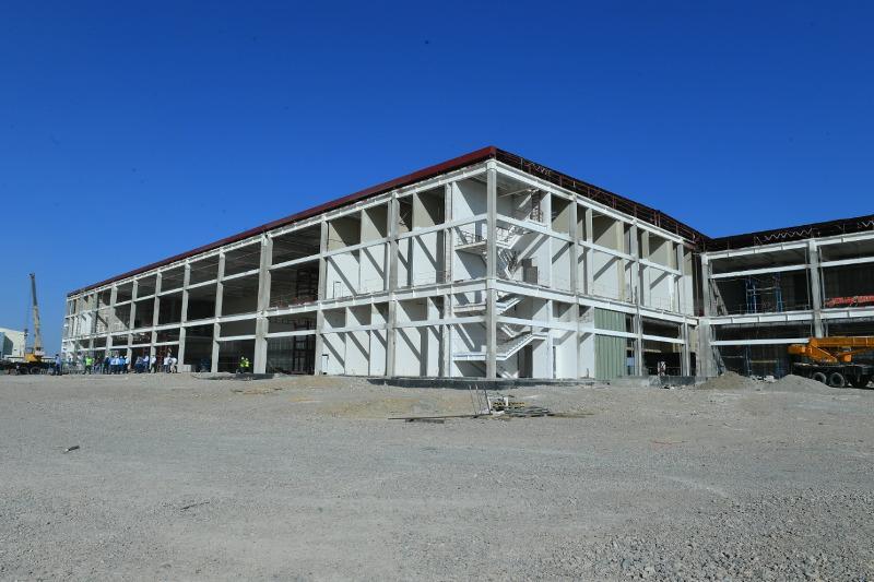 International airport construction in full swing in Turkestan
