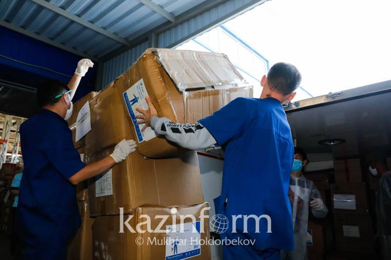 Қостанай облысына 20 тонна дәрі-дәрмек жеткізілді