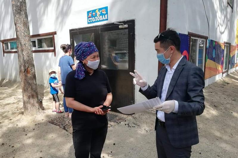 Мобильные группы Акмолинской области следят за соблюдением карантинных мер