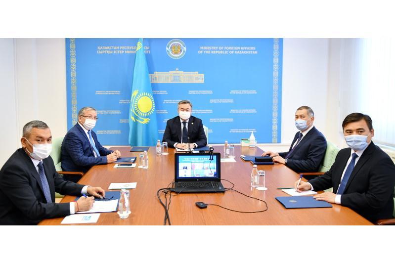 Запущен политический диалог «Центральная Азия - Китай»