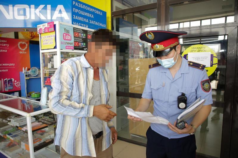 187 физлиц за неделю нарушили режим карантина в Атырауской области