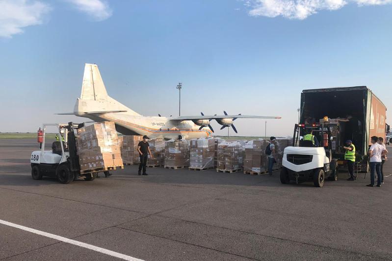 Over 23 t of medicines delivered to Nur-Sultan