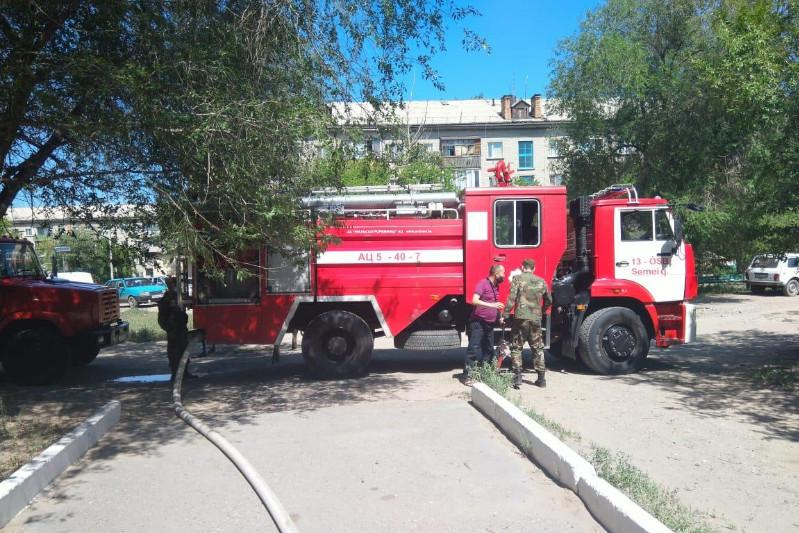27 people evacuated after house fire in Semey