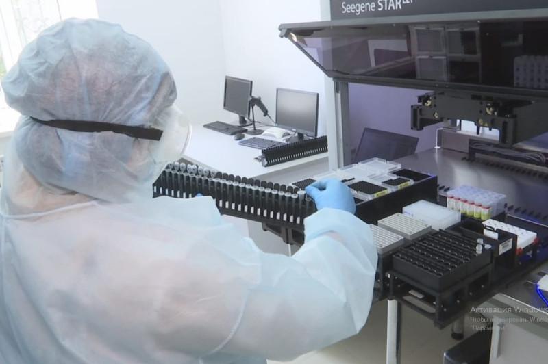 铁米尔套市新建一座PCR检测实验室 日均可完成1500份样本检测
