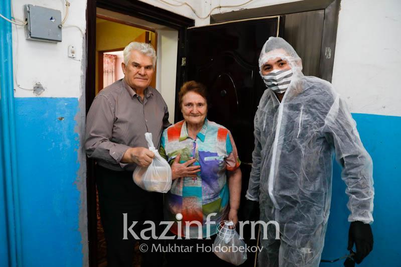 Более 800 семьям помогла Национальная волонтёрская сеть во время ЧП и карантина