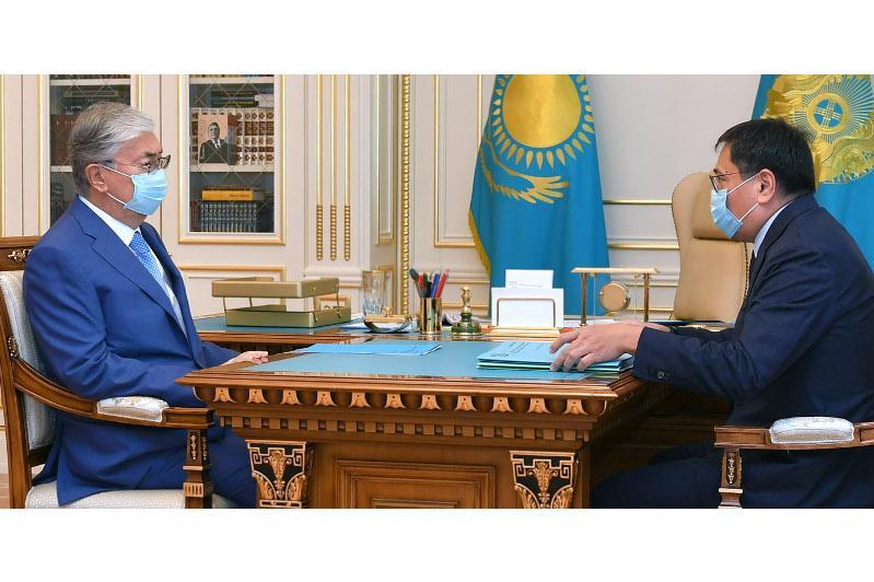 President Tokayev receives National Bank chairman