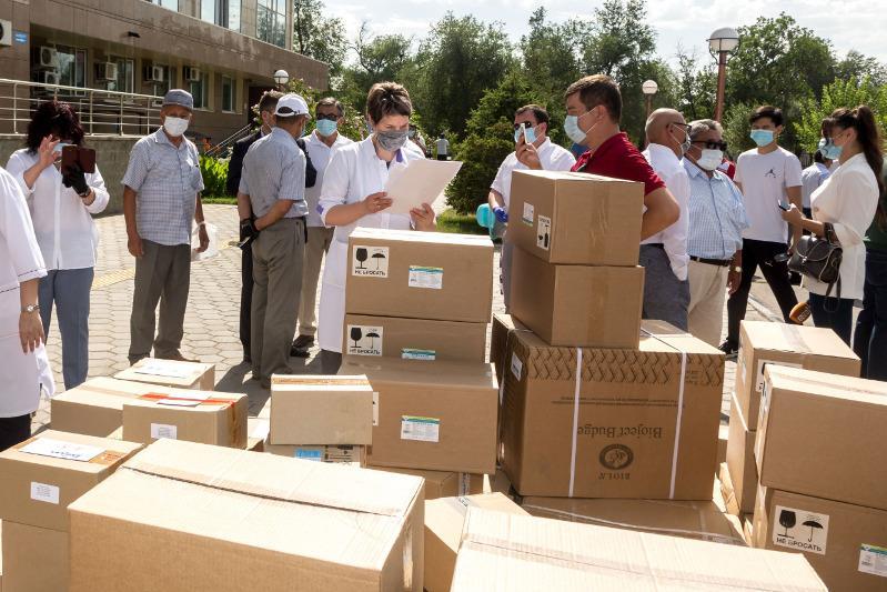 Жамбылцы собрали 70 миллионов тенге на борьбу с коронавирусом