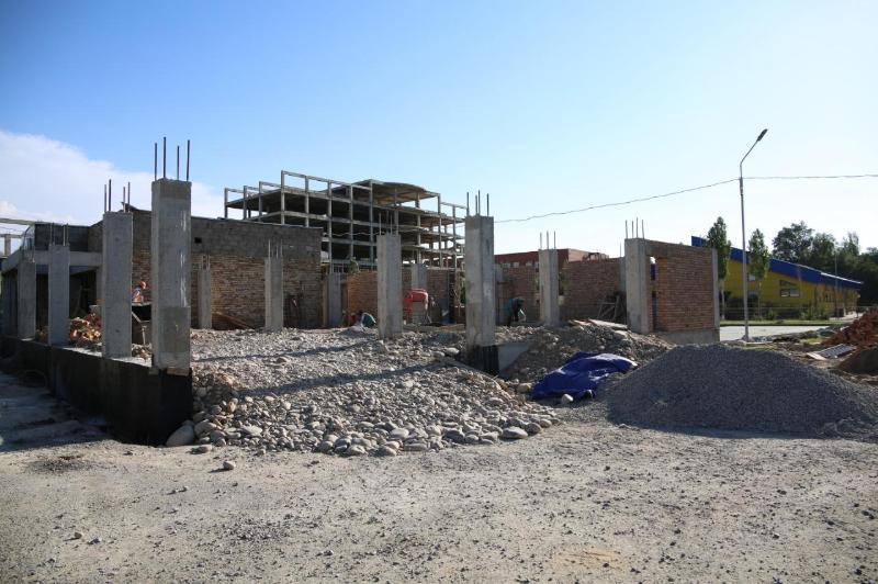 Три физкультурно-оздоровительных комплекса строят в Таразе