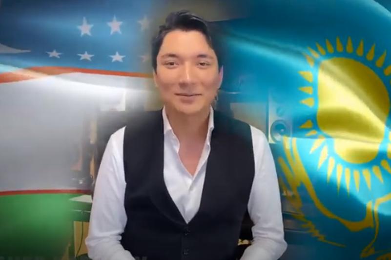 Қазақстандық әнші «Узбекистон» əнін өзбек тілінде орындады