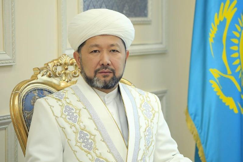 Верховный муфтий выступил с обращением к казахстанцам