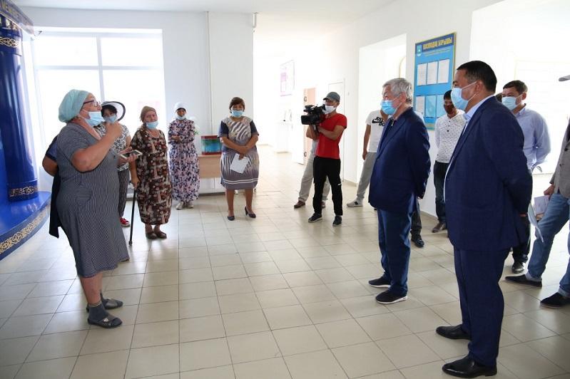 От решения проблем жамбылского аула аким уходила или в отпуск, или в декрет