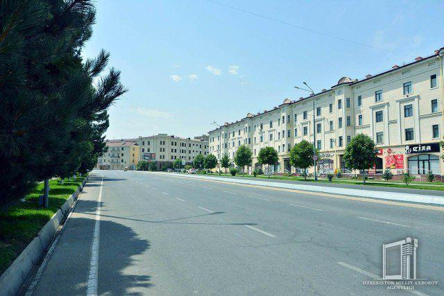 В Узбекистане полностью остановлено движение автотранспорта
