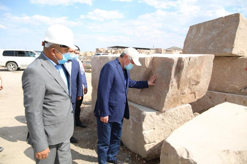 Kazakhstan granite exported to foreign states