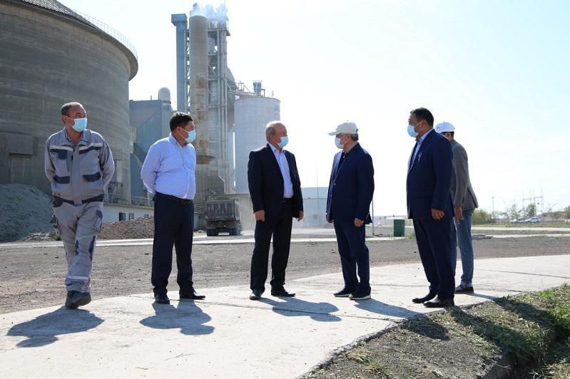 Цемент европейского качества делают в Жамбылской области