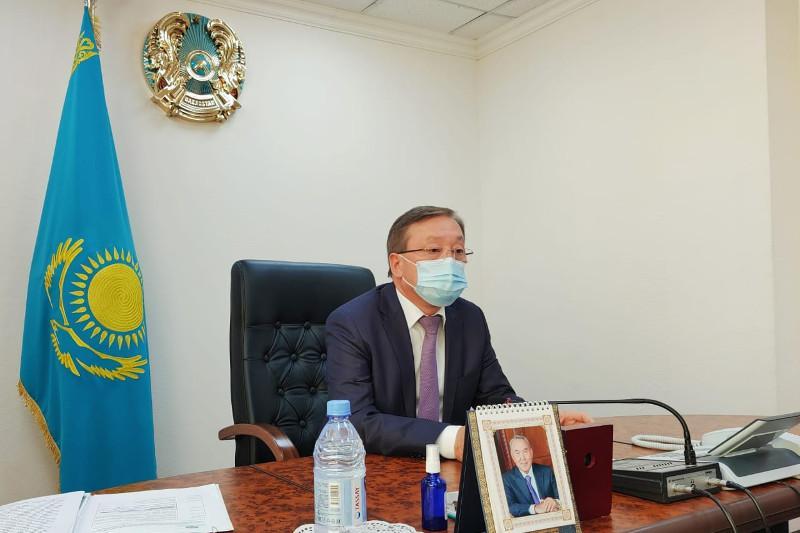 Сапархан Омаров принял участие в веб-конференции ОИС