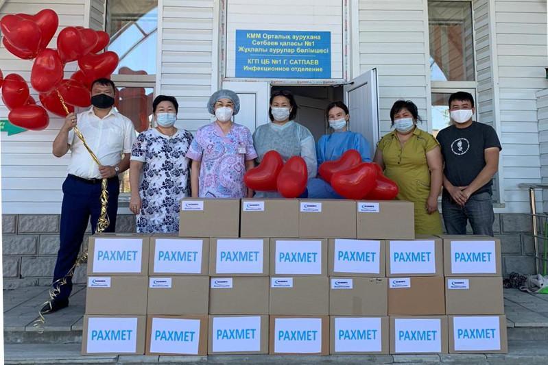 Сәтбаев волонтерлері күн сайын 700-ден астам мұқтаж жандарға көмек көрсетеді