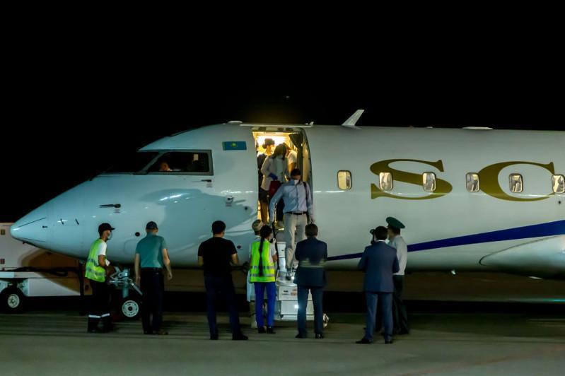 俄罗斯鞑靼斯坦援哈医疗组抵达江布尔州