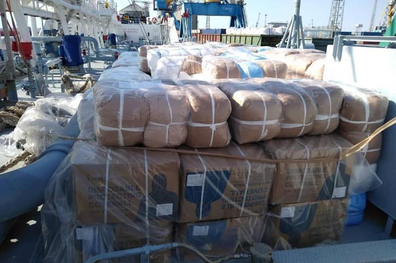 俄罗斯鞑靼斯坦提供的人道主义援助物资运抵曼格斯套州