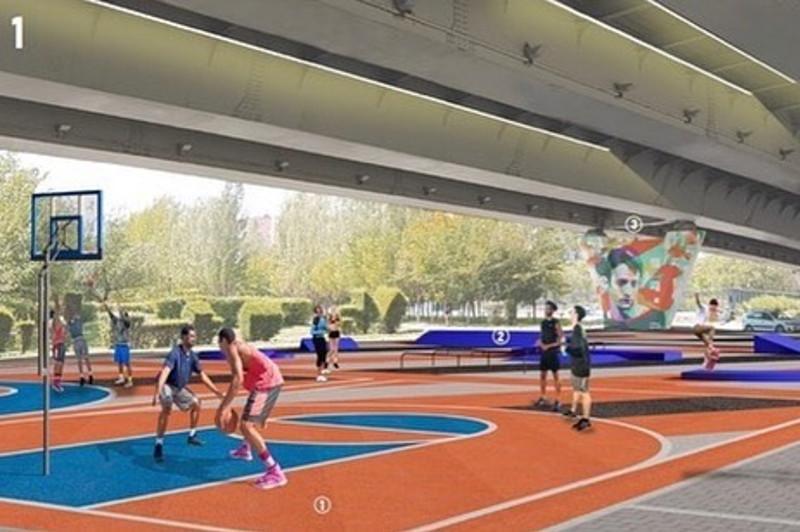Место для активного отдыха появится возле Евразийского национального университета