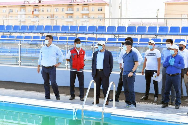 Several sports facilities to be commissioned in Turkestan