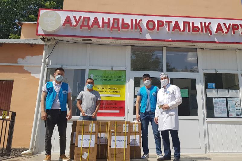 220 кислородных концентраторов переданыбольницам Актюбинской области