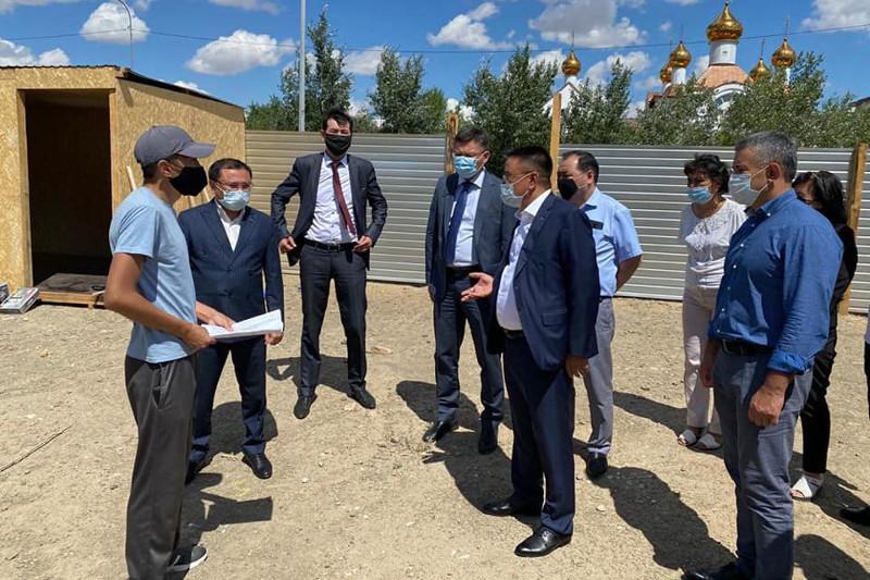 Строительство нового здания суда началось в Сатпаеве