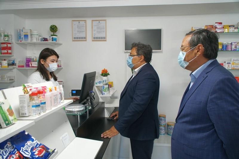 Nur-Sultanda dári-dármek baǵasyna monıtorıng júrgizý jumystary jalǵasýda