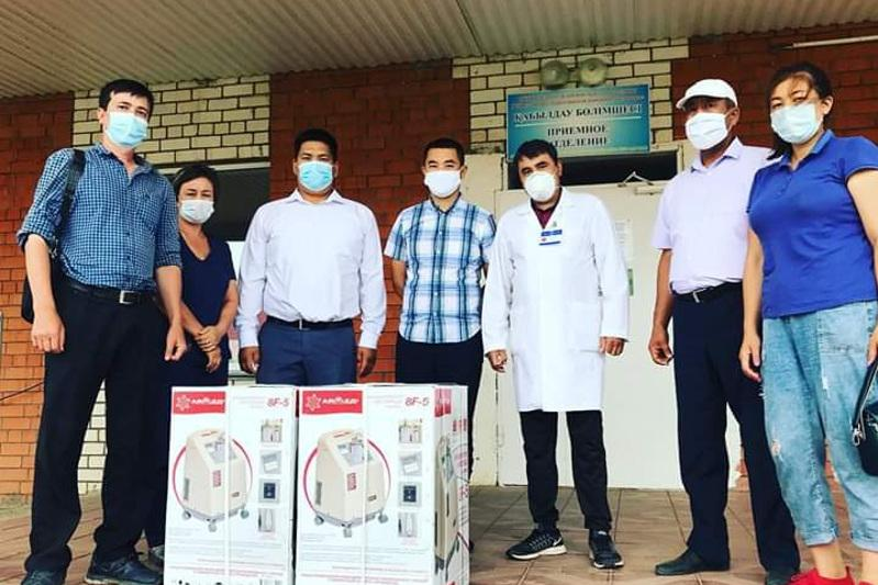 Бизнесмены ЗКО дарят медоборудование для районных больниц