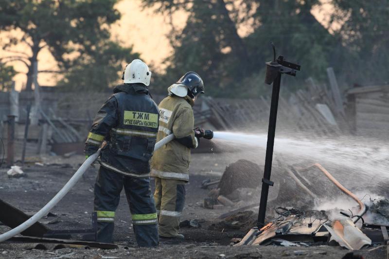 230 пожаров в жилом секторе произошло за полгода в ЗКО