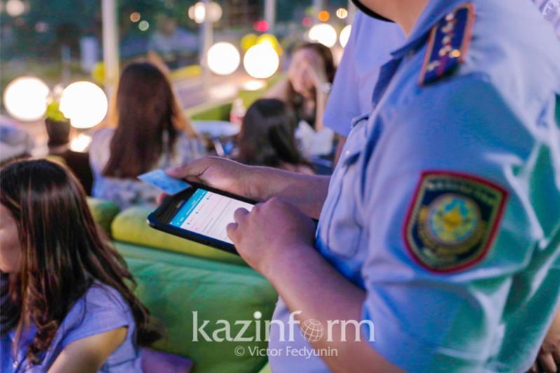 Ночную деятельность кафе приостановили полицейские Алматы