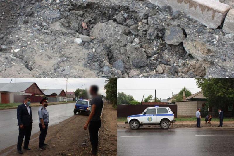 110 должностных лиц оштрафованы из-за плохих дорог в Павлодарской области