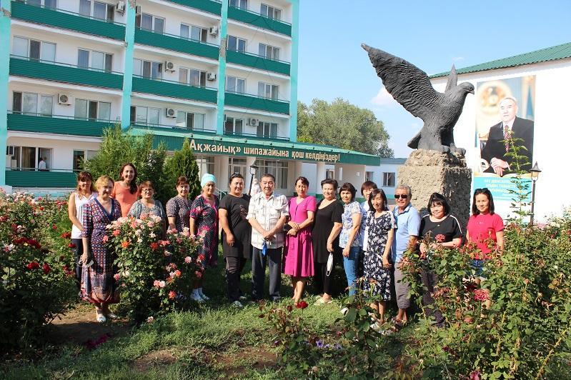 Батысқазақстандық дәрігерлер «Ақжайық» шипажайында демалып жатыр