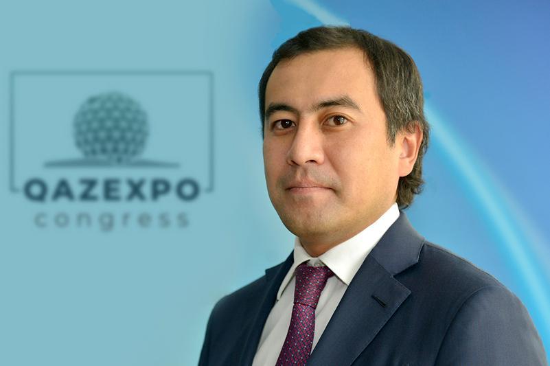 Аллен Чайжунусов назначен председателем правления АО «НК «QazExpoCongress»
