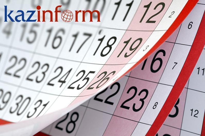 July 31. Kazinform's timeline of major events
