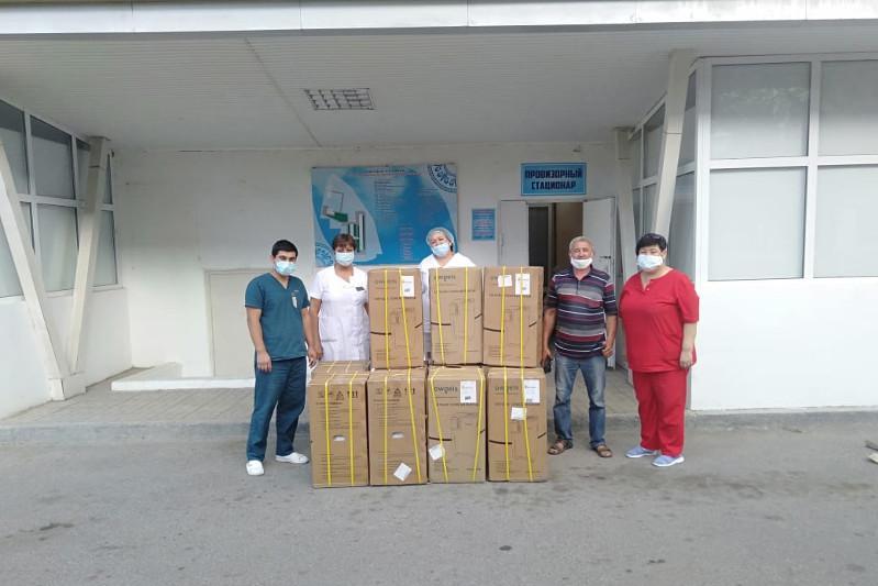 Мектеп түлектері ауруханаға 9 оттегі концентрантын сыйға тартты –Түркістан