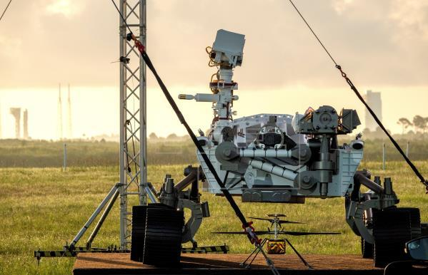Nasa launches Mars rover hoping to find signs of life