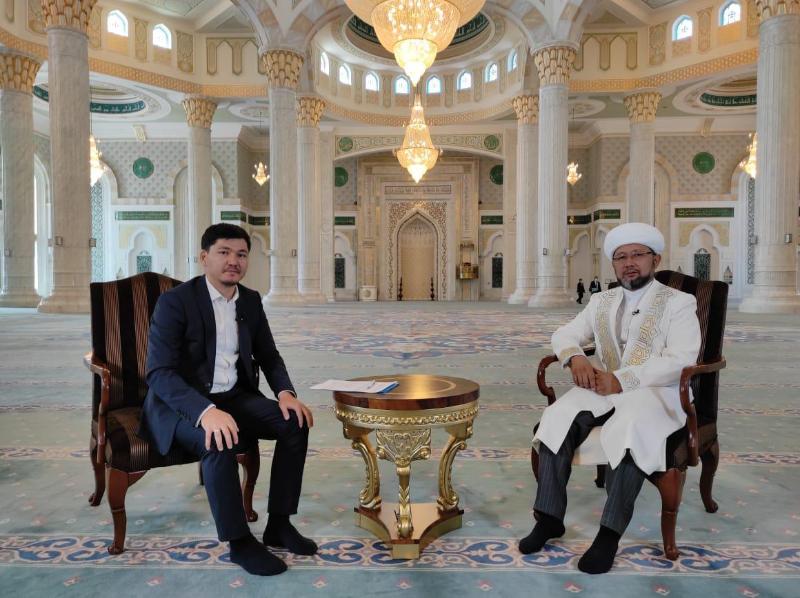 Онлайн-мероприятие на Курбан айт провело Духовное управление мусульман Казахстана