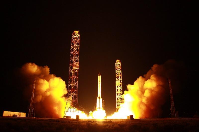 Запущенные с Байконура спутники выведены на орбиту