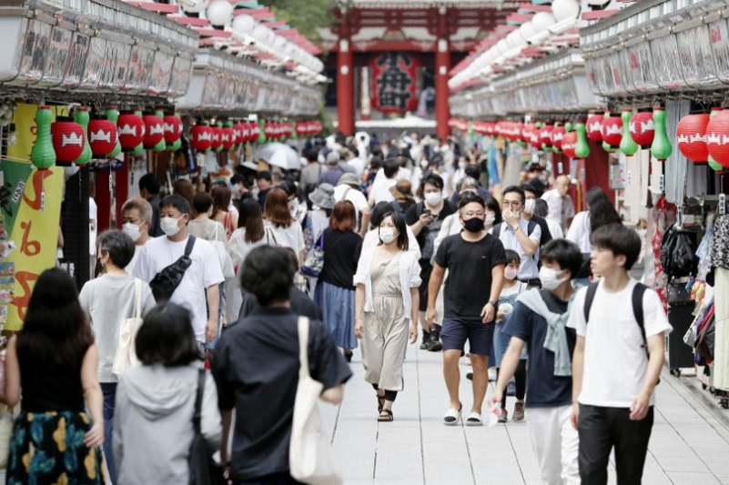 Tokyo reports 472 new coronavirus cases, record rise for 3rd day