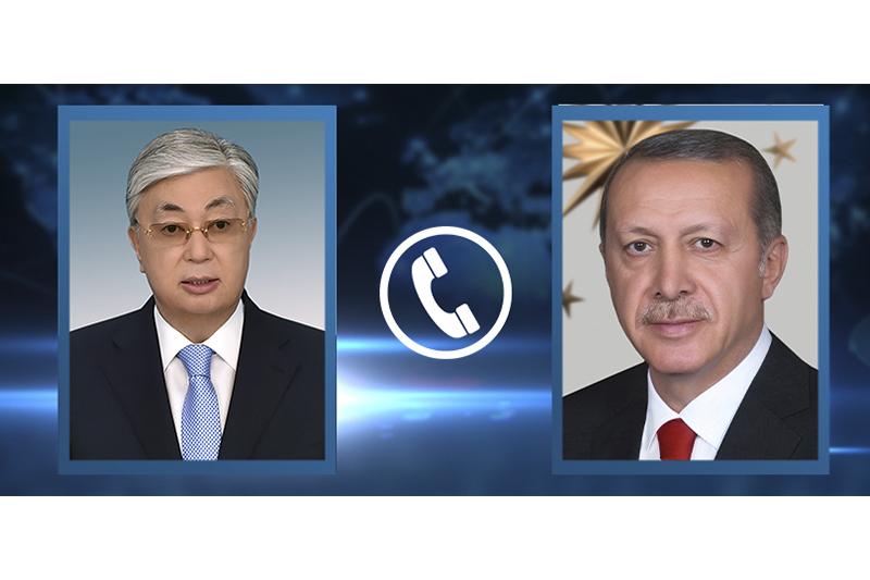 ҚР Президенті Режеп Тайип Ердоғанды Қазақстанға ресми сапармен келуге шақырды