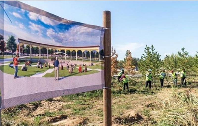 В столичном жилом массиве Коктал появится большой парк