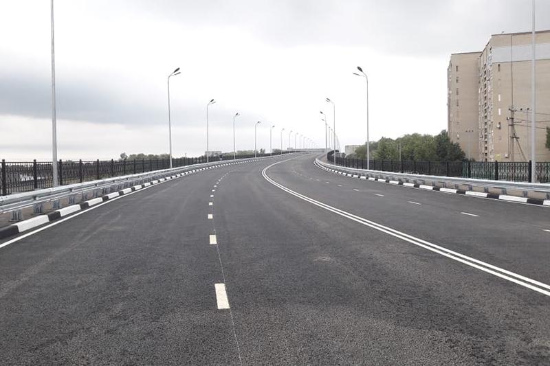 Мост открыли после реконструкции в Уральске