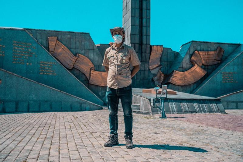 Путешественник из Ливии дошёл до Восточного Казахстана