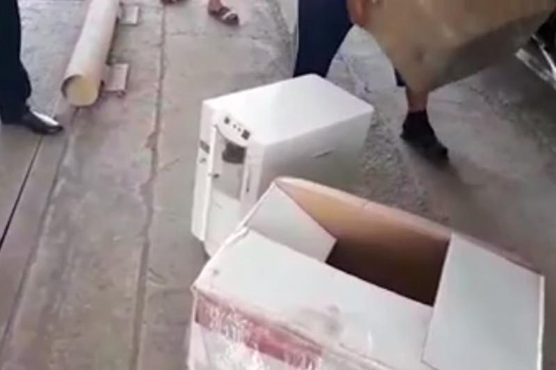 Түркістан облысында екі жүк көлігінен коронавирусты емдеуге арналған дәрілер тәркіленді