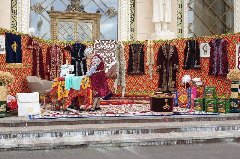 Мелодии Великой степи прозвучали на главной выставке России