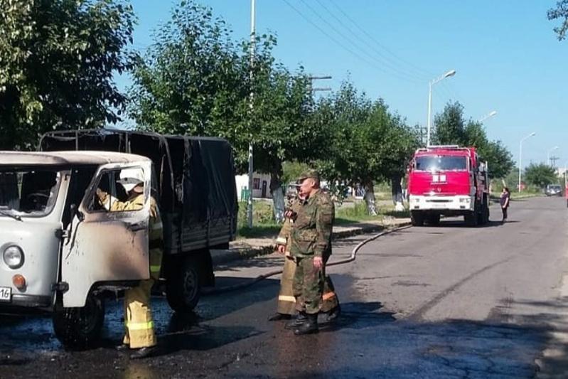 Три автомобиля за выходные дни сгорели в ВКО
