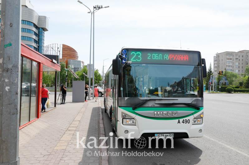 Елордада жаңа автобус бағдары іске қосылды
