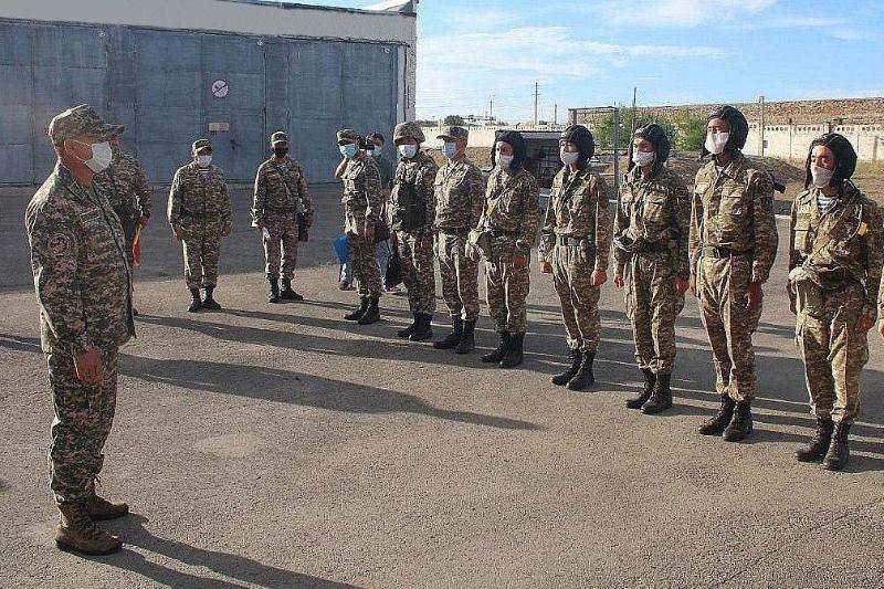 Первый замминистра обороны РК проверил воинские части