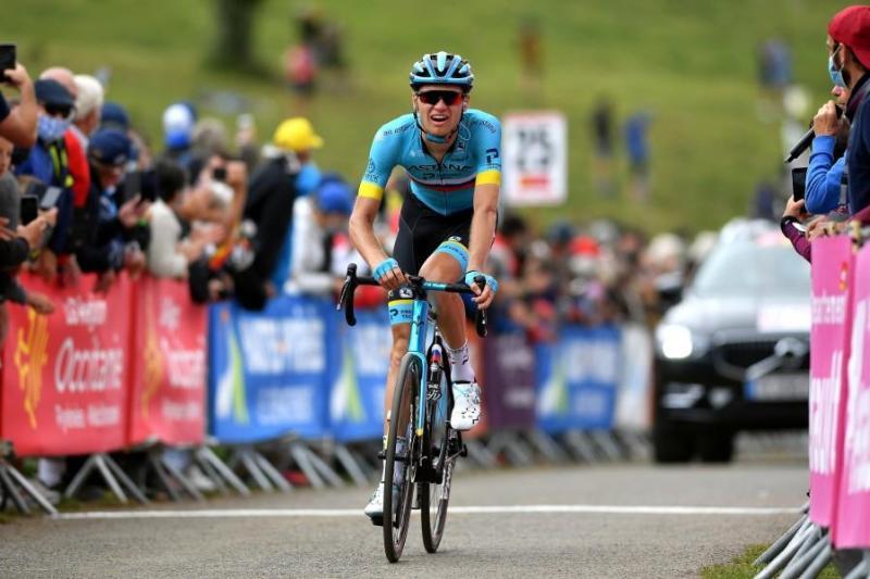 哈萨克斯坦自行车骑手在国际比赛中斩获第三