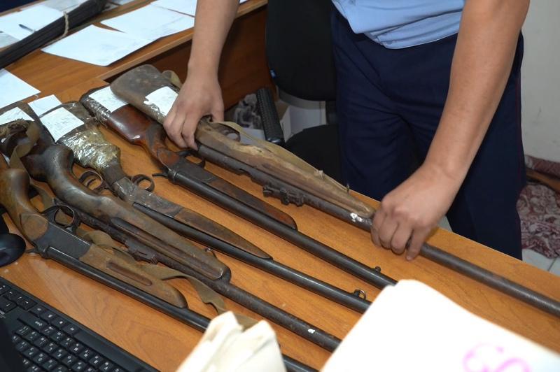 Оружие более чем на 9 миллионов тенге сдали павлодарцы